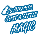 no-miracles-just-magic-blue-icon